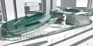 Проект торгового центра