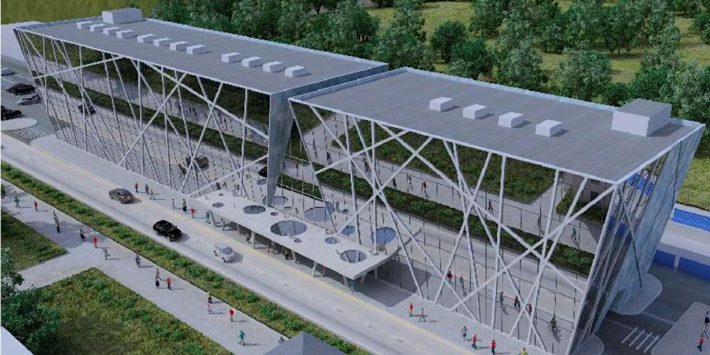 Проект ЖД вокзала Воронок в Щелково