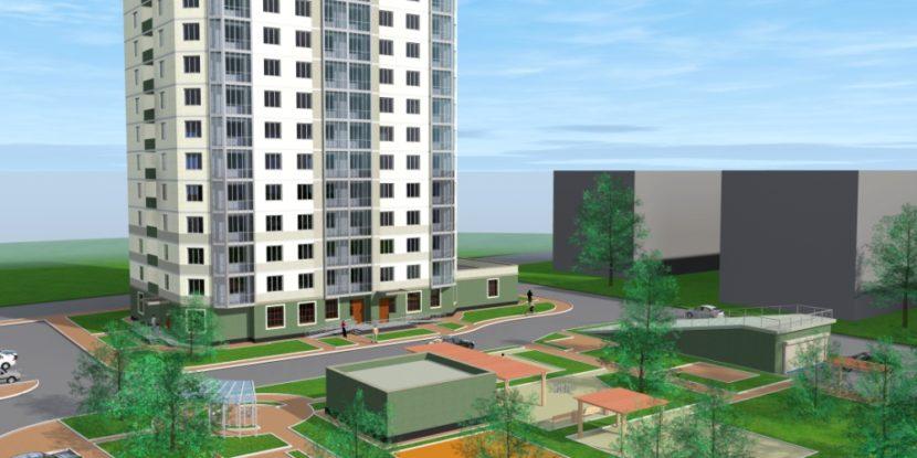 Проект жилого дома Москва Амурская