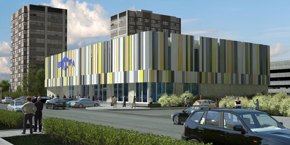 Проект торгового центра в Ивантеевке МО