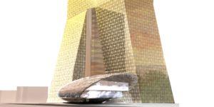 Проект делового центра в Казани