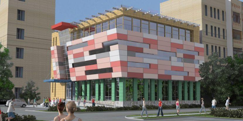 Проект торгового центра в Щелково