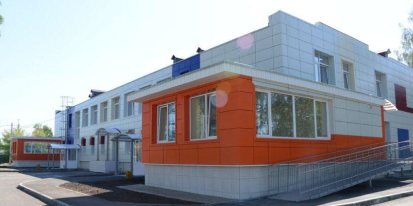 Реконструкция здания детского сада